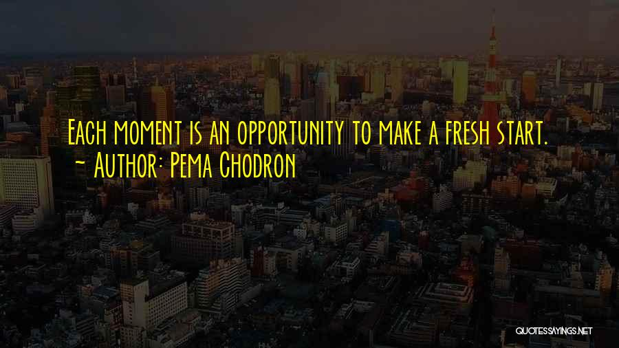 Opportunity Quotes By Pema Chodron