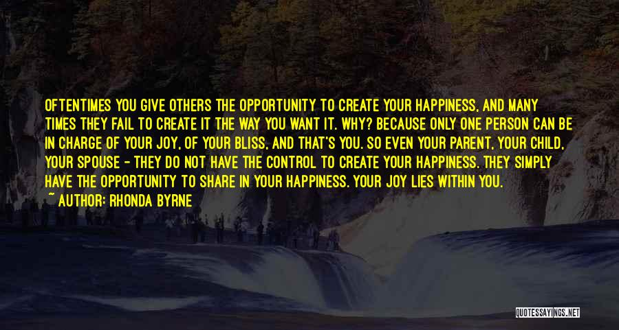 Opportunity Quotes By Rhonda Byrne