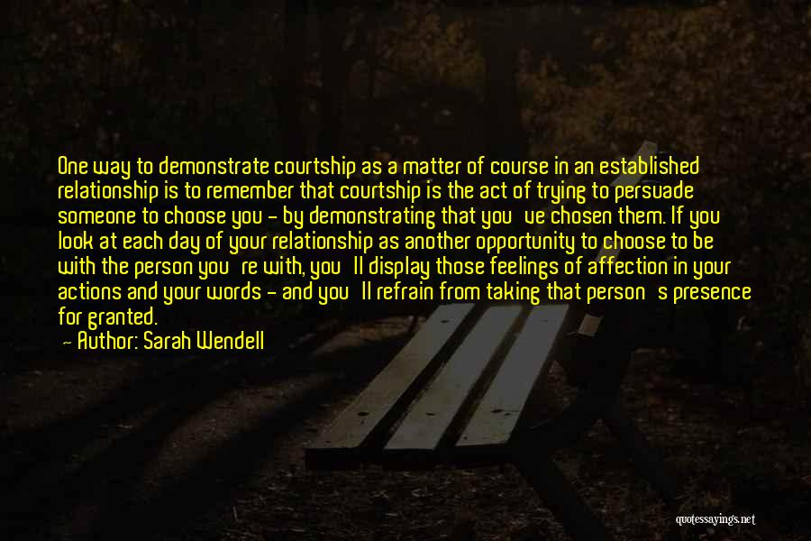 Opportunity Quotes By Sarah Wendell