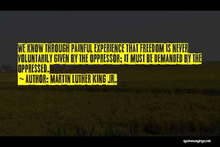 Oppressed Oppressor Quotes By Martin Luther King Jr.