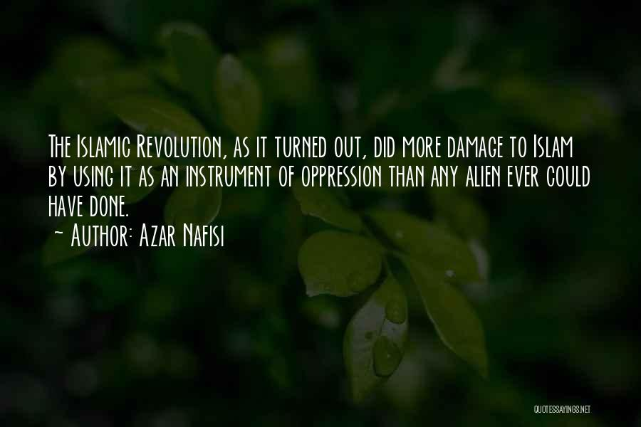 Oppression In Islam Quotes By Azar Nafisi