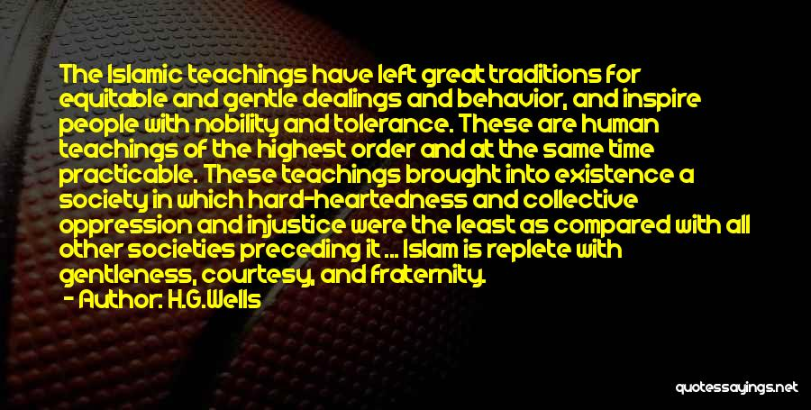 Oppression In Islam Quotes By H.G.Wells