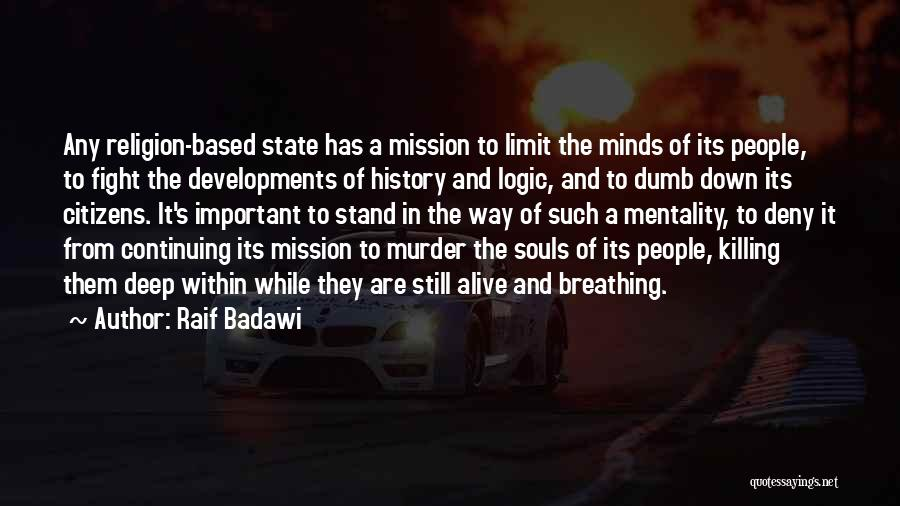 Oppression In Islam Quotes By Raif Badawi