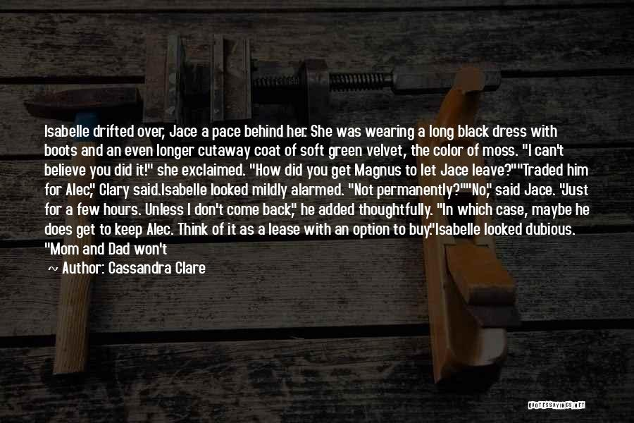 Option Trading Quotes By Cassandra Clare