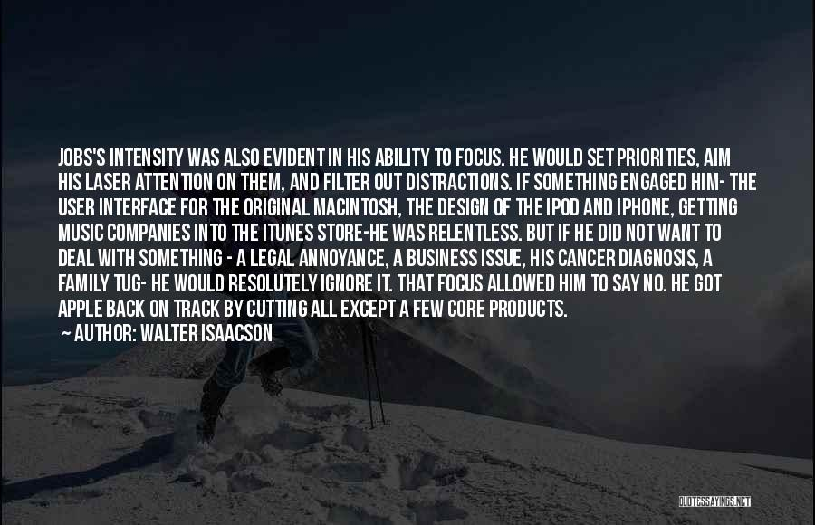 Options In Love Quotes By Walter Isaacson