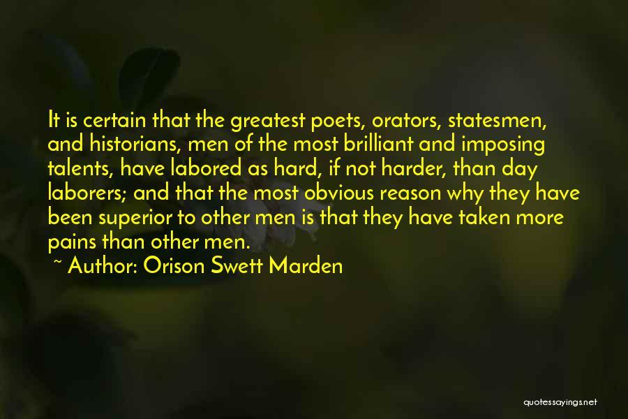 Orators Quotes By Orison Swett Marden