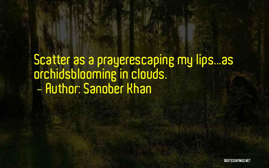 Orchids Poems Quotes By Sanober Khan