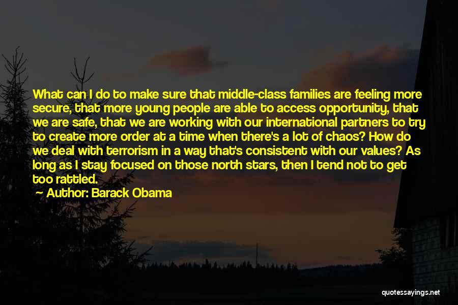 Order In Chaos Quotes By Barack Obama