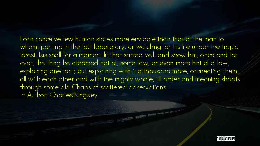 Order In Chaos Quotes By Charles Kingsley