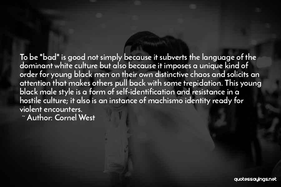 Order In Chaos Quotes By Cornel West