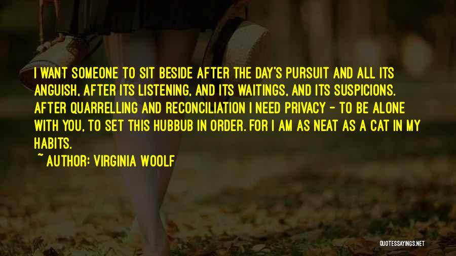 Order In Chaos Quotes By Virginia Woolf