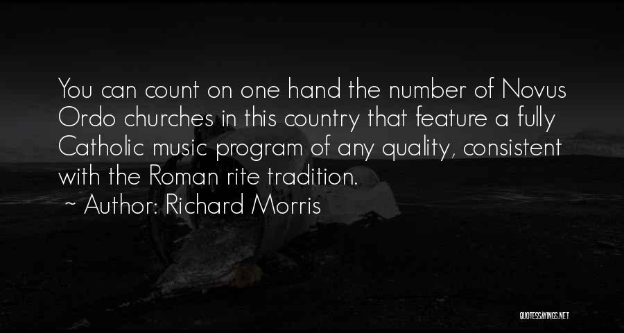 Ordo Quotes By Richard Morris
