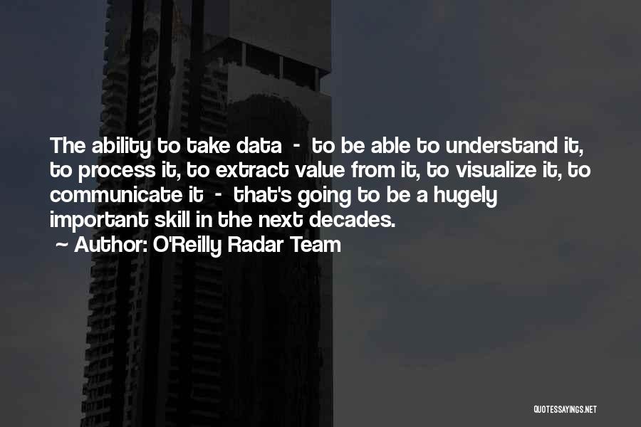 O'Reilly Radar Team Quotes 220507
