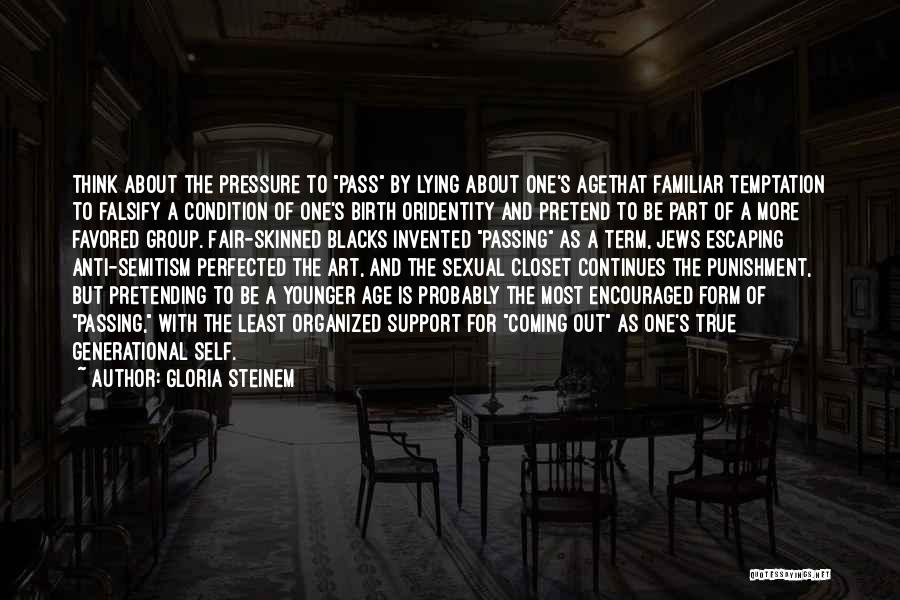 Organized Closet Quotes By Gloria Steinem
