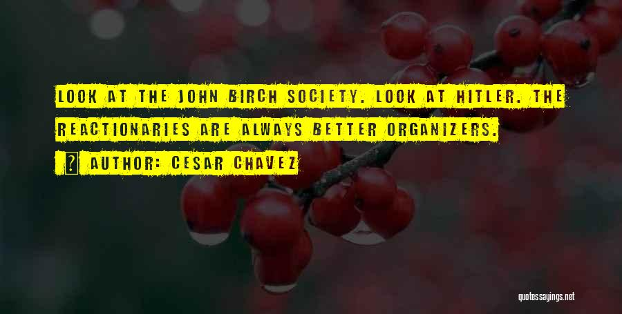 Organizers Quotes By Cesar Chavez