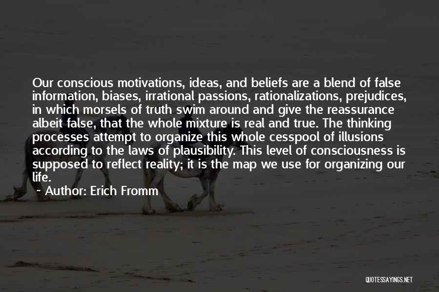 Organizing Ideas Quotes By Erich Fromm