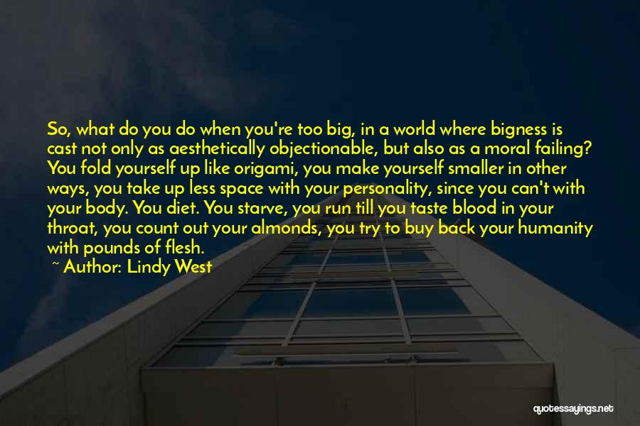 Origami Quotes By Lindy West