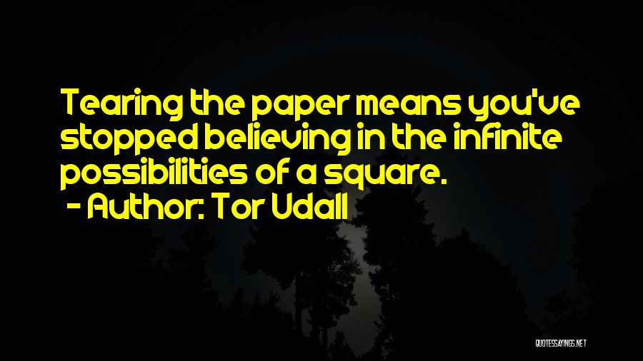 Origami Quotes By Tor Udall