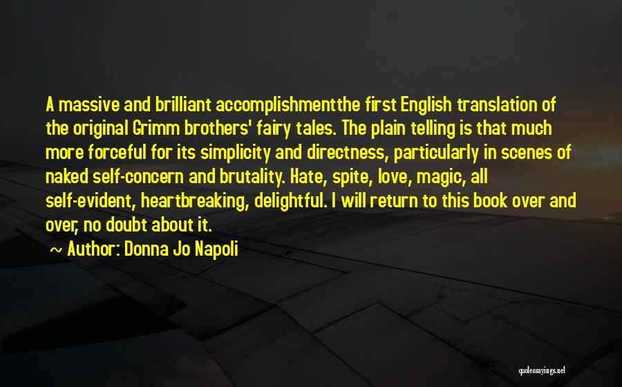 Original Love Quotes By Donna Jo Napoli