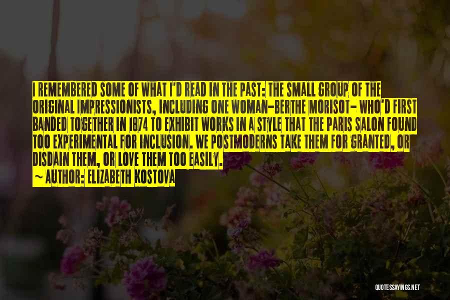 Original Love Quotes By Elizabeth Kostova