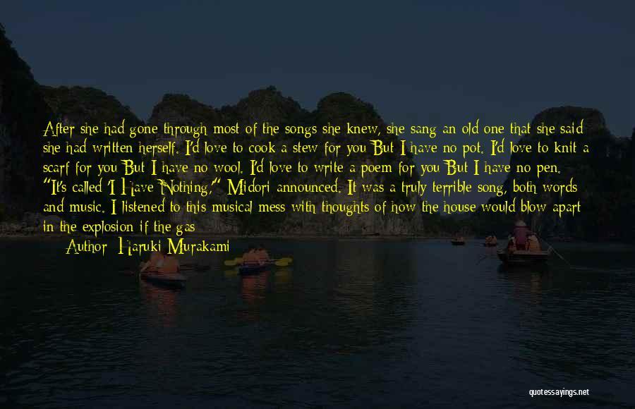 Original Love Quotes By Haruki Murakami
