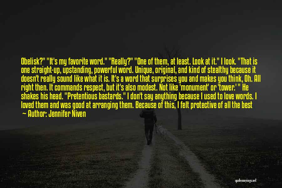 Original Love Quotes By Jennifer Niven