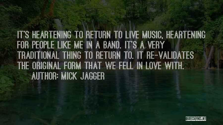 Original Love Quotes By Mick Jagger