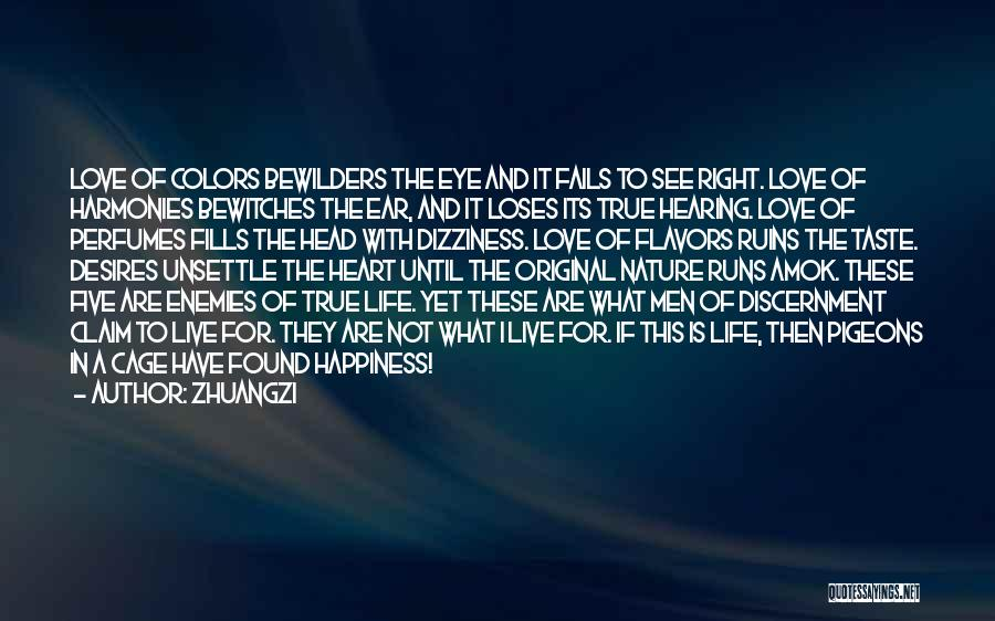 Original Love Quotes By Zhuangzi