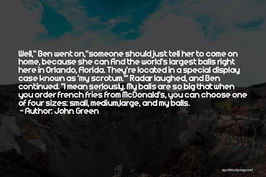 Orlando Quotes By John Green