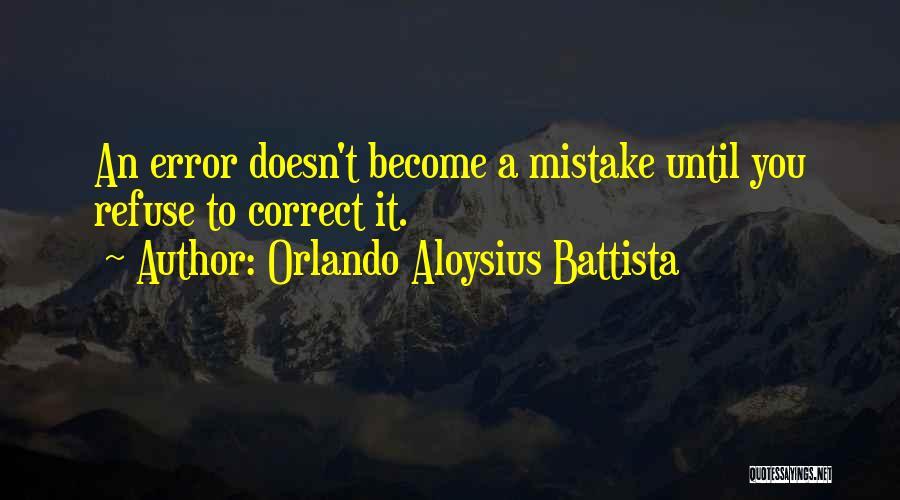 Orlando Quotes By Orlando Aloysius Battista