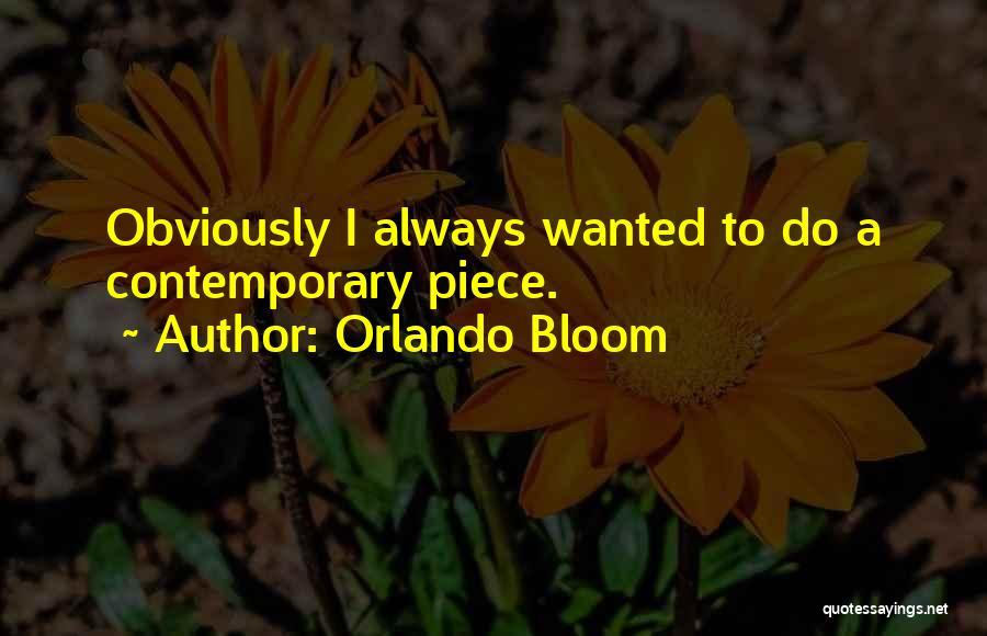 Orlando Quotes By Orlando Bloom