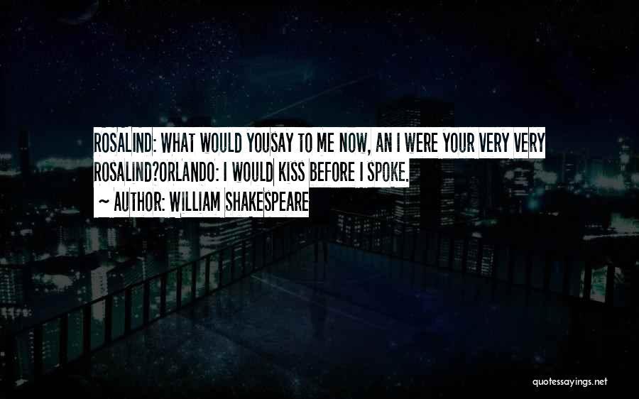 Orlando Quotes By William Shakespeare