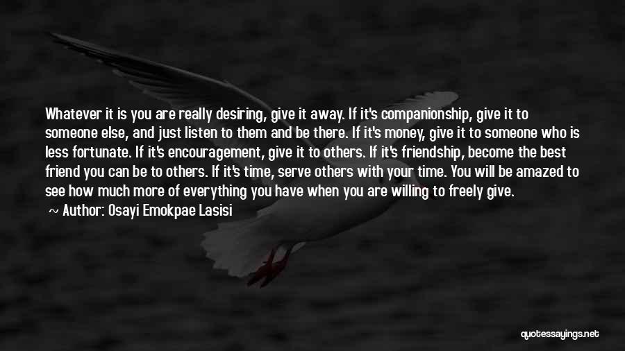 Osayi Emokpae Lasisi Quotes 1857507