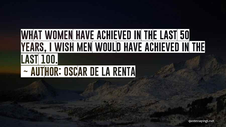 Oscar De La Renta Quotes 1289527