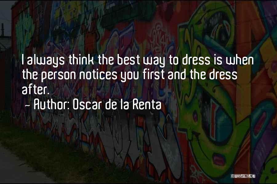 Oscar De La Renta Quotes 1395025
