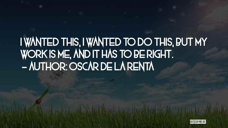 Oscar De La Renta Quotes 1413991