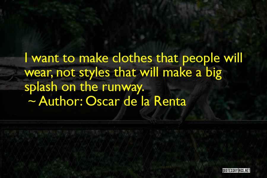 Oscar De La Renta Quotes 1498880