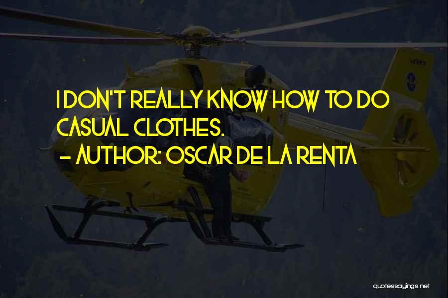 Oscar De La Renta Quotes 1609998