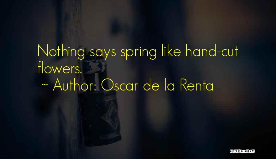 Oscar De La Renta Quotes 1781192