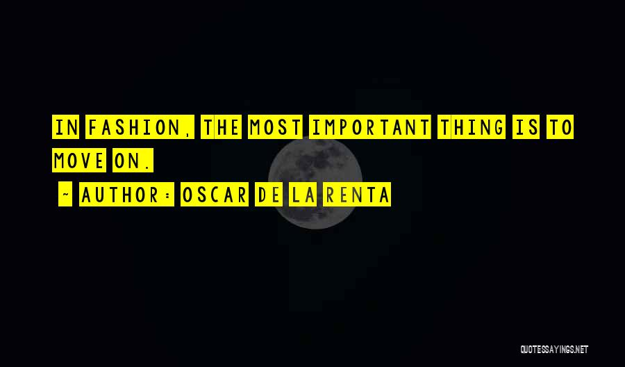 Oscar De La Renta Quotes 2190912