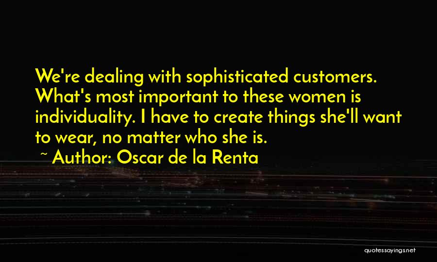 Oscar De La Renta Quotes 257460