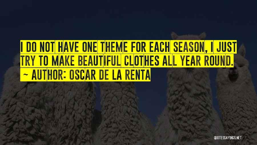 Oscar De La Renta Quotes 455380
