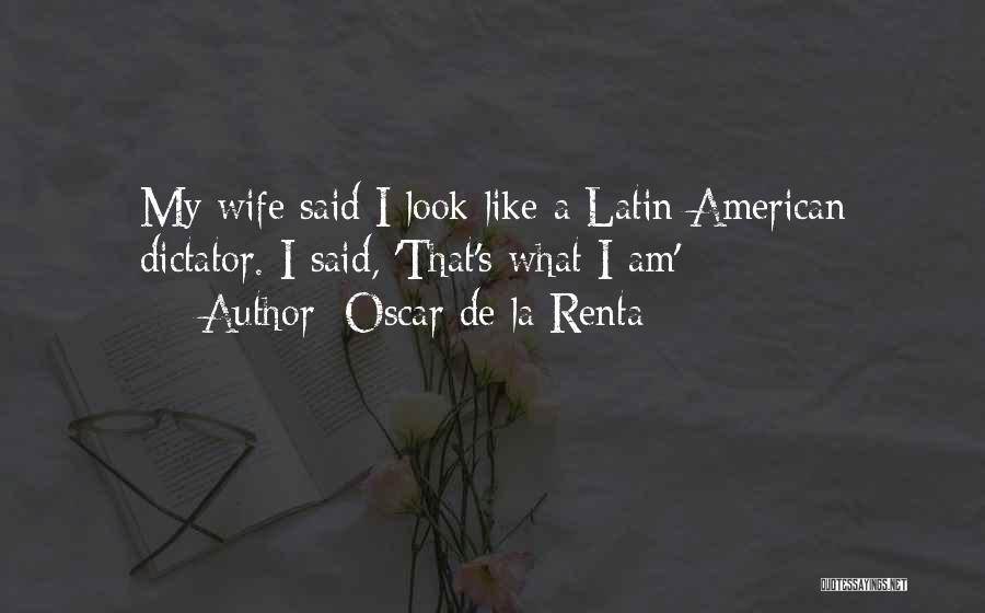 Oscar De La Renta Quotes 587289