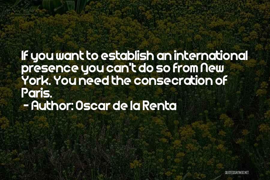Oscar De La Renta Quotes 844157