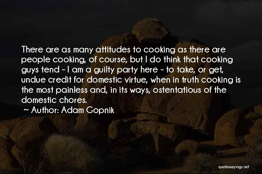 Ostentatious Quotes By Adam Gopnik