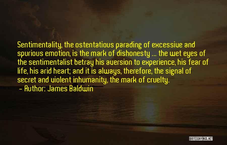 Ostentatious Quotes By James Baldwin