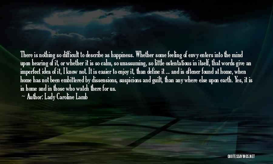 Ostentatious Quotes By Lady Caroline Lamb