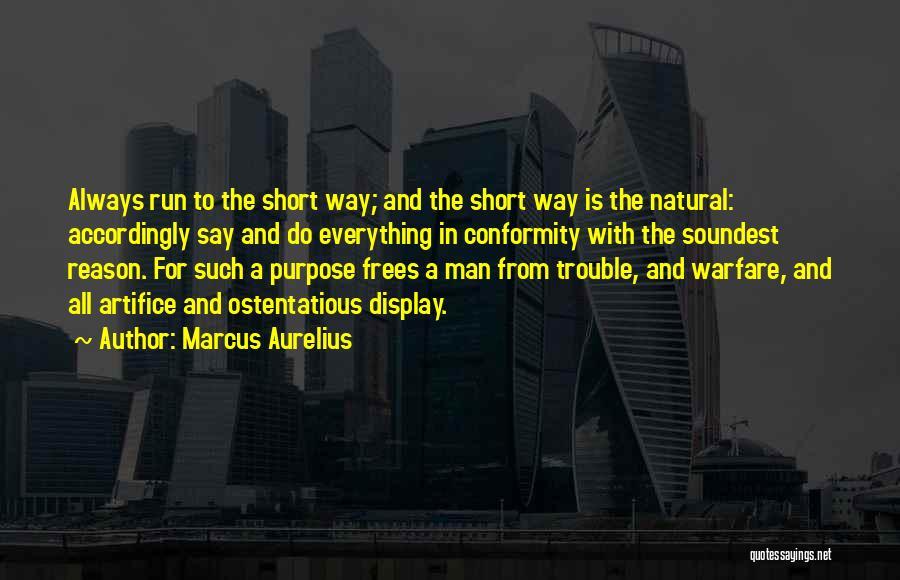 Ostentatious Quotes By Marcus Aurelius