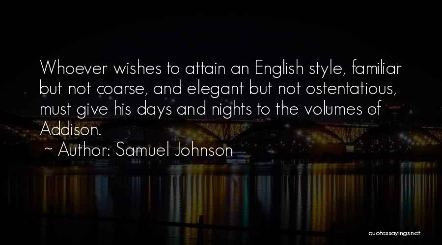 Ostentatious Quotes By Samuel Johnson