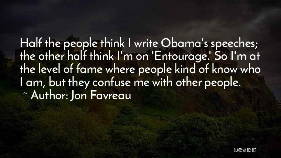 Other Half Of Me Quotes By Jon Favreau